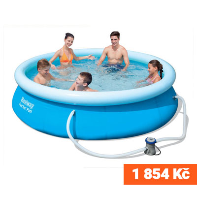 Samostavěcí bazén 305 x 76 cm s filtrem