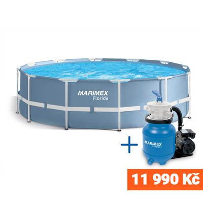 Bazén Florida 4,57 x 1,22 s pískovou filtrací ProStar 3