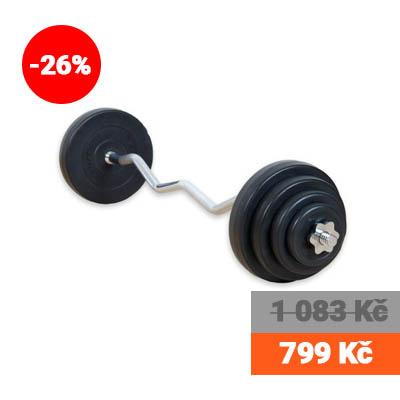 Obouruční činka, 23,5 kg