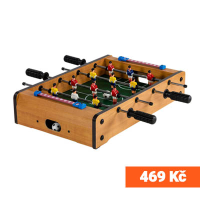 Mini stolní fotbálek 469 Kč