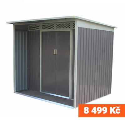 Zahradní domek G21 GBAH 418 - 203 x 172 cm, šedý 8499 Kč