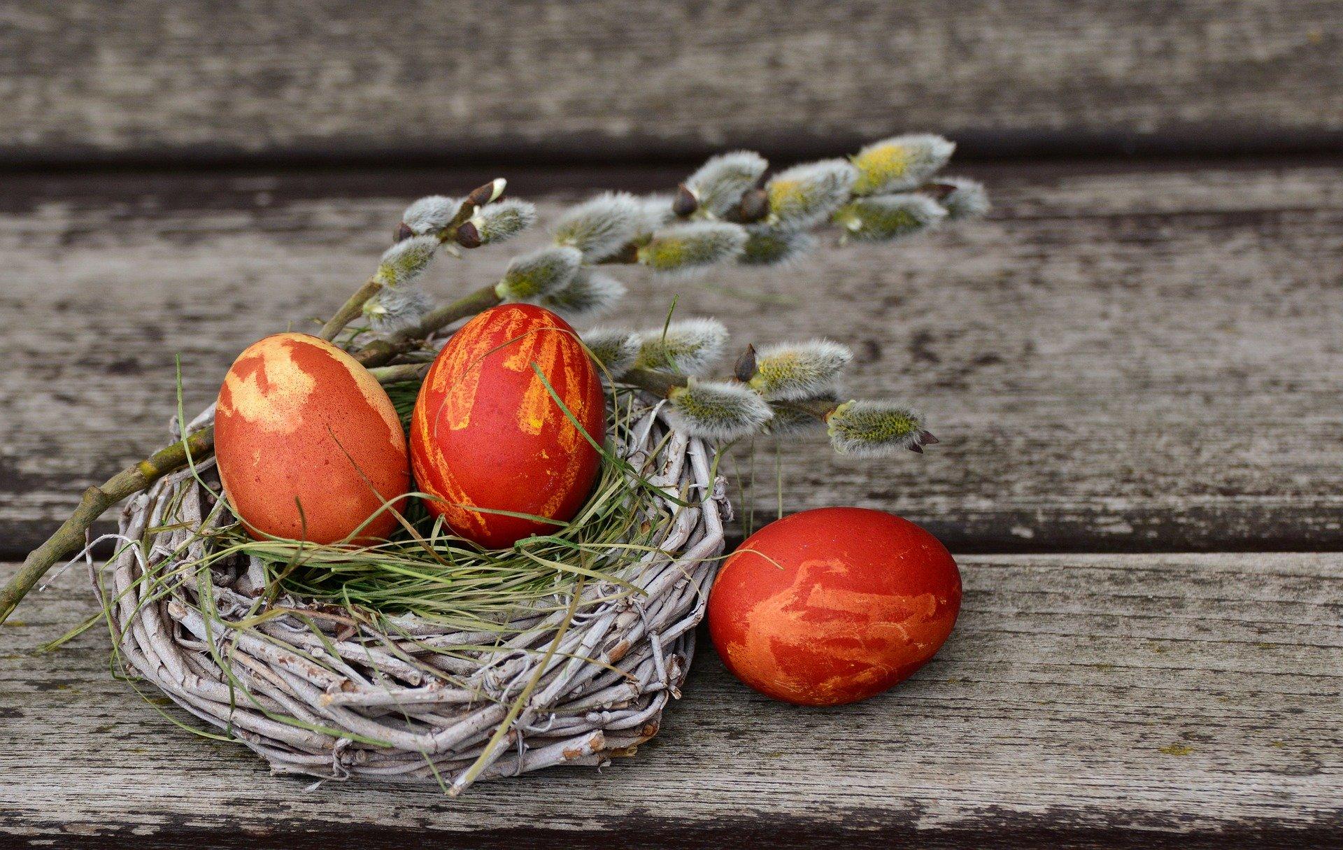 Přírodní velikonoční výzdoba